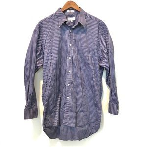 Christian Dior Shimmer Long Sleeve Button Down